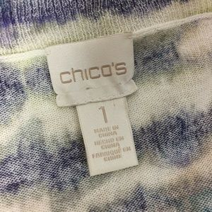 Chico's Sweaters - Chico's 1 Linen Blend Cardigan Sweater Long Open S